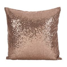 Sequin Pillow Cushion Cover Silver Rose Gold by MagpieLinens Rose Gold Rooms, Rose Gold Decor, Glitter Bedroom, Gold Bedroom, Sequin Cushion, Sequin Pillow, Gold Pillows, Throw Pillows, Scatter Cushions