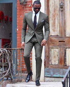 """FashionFriday// David #alphablackmen #blackman #blackmen #alpha #guys #swag #dope #selfie #hunk  #atlanta #miami #dmv #newyork #la #london #paris #urban…"""