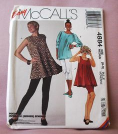 1990 Uncut Easy  McCall's Pattern 4884 by lovelylovepatterns, $4.00