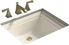 "View the Kohler K-2339 Memoirs 18-1/4"" Undermount Bathroom Sink at FaucetDirect.com."