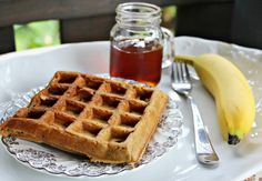 The Good Kind of Crazy: Super Delicious Vegan Sprouted Grain Waffles