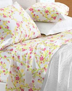 Lilly Pulitzer Cheery Blossom Percale Bedding - Garnet Hill