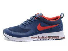 Nike Air Max Thea Print Chaussure De Course Pour Homme Bleu Rouge Blanc  599408-ID2