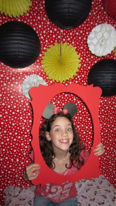 """Photo 2 of 32: Minnie Mouse - Red / Birthday """"Sarah's 4th Birthday - Minnie Mouse Party (red)"""" 