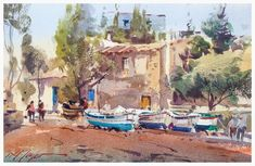 o you need to improve your watercolours? Would you like to learn with one of the best masters? David Taylon will help you improve your watercolour skills: