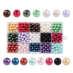 De vidrio esmerilado perlas de vidrio; Olive; abalorios 4mm rojo opaque a partir de 100 St