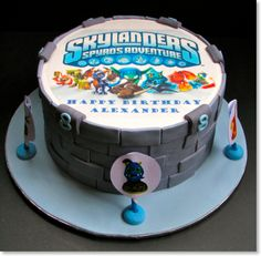 skylanders cake | sorry no link on this image | love this cake though!!!