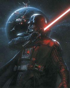 Star Wars Film, Star Wars Fan Art, Star Wars Poster, Anakin Vader, Vader Star Wars, Star Trek, Anakin Skywalker, Darth Maul, Images Star Wars