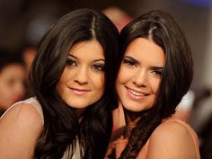 Kendall and Kylie- i swear they are like perfect.