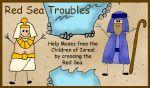 Moses and the Red Sea File Folder Game : Red Sea Troubles Bible Games, Bible Activities, Activities For Kids, Moses Red Sea, Folder Games, File Folder, Family Home Evening Games, Crossing The Red Sea, Church Nursery
