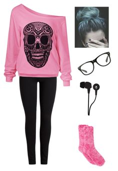 """""""Chilling at Home"""" by nerd-alert01 ❤ liked on Polyvore featuring Charter Club and Skullcandy"""