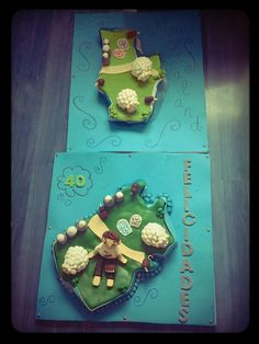 Tarta de Nueva Zelanda por el 40 cumpleaños de Ian