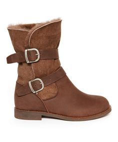 Another great find on #zulily! Chocolate Agnes Boot - Women #zulilyfinds