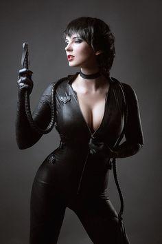 CatWoman DC Comics Batman Arkham Knight Injustice by AGflower.deviantart.com on @DeviantArt - More at https://pinterest.com/supergirlsart #cat #woman #cosplay #girl #cosplaygirl