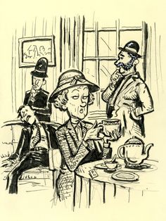 Agatha Christie's Miss Marple is a classic who loves her tea, her garden and sleuthing. Hercule Poirot, Agatha Christie's Poirot, Miss Marple, Murder Mysteries, Cozy Mysteries, Agatha Christie's Marple, Crime, Classic Artwork, Tv Tropes