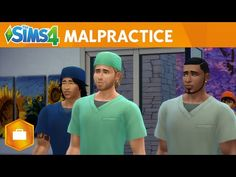 The Sims 4 Get to Work: Malpractice - YouTube