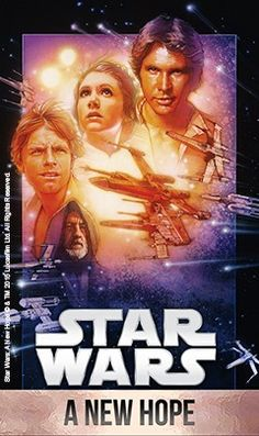 Star Wars: A New Hope. Available now as part of Star Wars: The Digital Movie Collection.