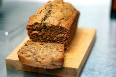jacked-up banana bread: somehow so much better than any other banana bread i've had (and uses extra bananas, to boot)!