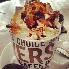 Yummie Caramel Croquant sooooo good!!! Coffeelovers Plein 92 Maastricht