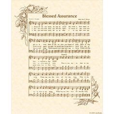 The words of this vintage hymn were written by Fanny J. Crosby a famous blind lyricist responsible for many hymns of the Christian faith. The music was written by Mrs. Joseph F. BLESSED ASSURANCE is an X original art print made with a hymn from a Christian Wall Art, Christian Songs, Christian Faith, Praise Songs, Praise And Worship, Blessed Assurance Hymn, Church Songs, Church Music, Hymn Art