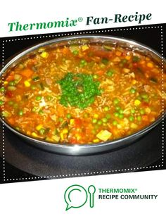 Minestrone Soup by Pammy H.. A Thermomix <sup>®</sup> recipe in the category Soups on www.recipecommunity.com.au, the Thermomix <sup>®</sup> Community.