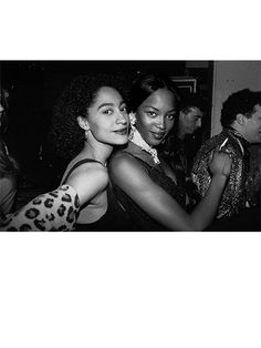 Best Celebrity #TBTs Photos of all time: Tracee Ellis Ross and Naomi Campbell's party beauty looks | allure.com