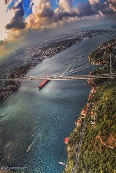 The Amazing Istanbul with Bosphorus Bridge.........