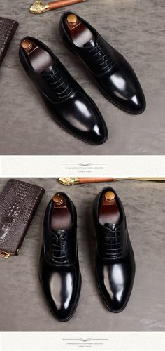 Formal Shoes Genuine Leather Oxford Shoes Wedding Shoes Laces Leather – The Good Vibes Well-being and Mens Brown Leather Shoes, Leather Brogues, Cow Leather, Formal Shoes For Men, Men Formal, Designer Dress Shoes, Tuxedo Shoes, Men's Wedding Shoes, Oxford Shoes