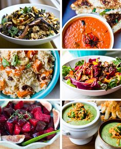 21 bowls for healthy winter eating! - this is an amazing collection of recipes! I Love Food, Good Food, Yummy Food, Vegetarian Recipes, Healthy Recipes, Healthy Meals, Healthy Habits, Easy Meals, Winter Food