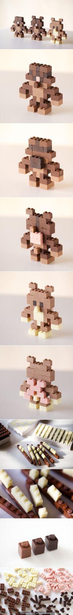 CHOCOLATE LEGO : ACGUY by Akihiro Mizuuchi