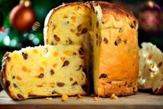 Panettone Italian Christmas Cake Stock Photo (Edit Now) 167607269 Italian Christmas Cake, Christmas Desserts, Best Cake Recipes, Quick Recipes, Easter Recipes, Fruit Recipes, Italian Cupcakes, Stollen Bread, Holiday Bread