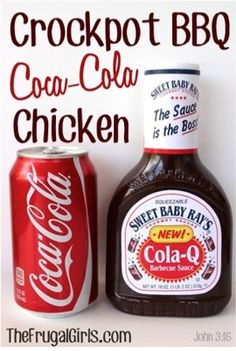 Crockpot BBQ Coca Cola Chicken