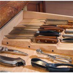 Custom Knife Storage