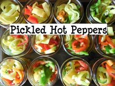 How to Can Pickled Peppers!