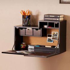 12 best laptop wall mount shelf images desk desks wall desk rh pinterest com