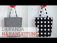 DaWanda Nähanleitung: Tasche nähen - YouTube