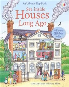 Usborne Quicklinks - See Inside Houses Long Ago { need to get my hands on this!}