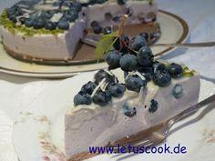Heidelbeer-Käse Torte -  ყველის ტორტი მოცვით (Cheesecake)