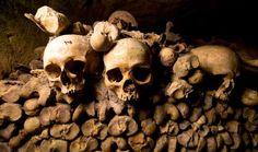 The Catacombs, France - AP Photo/Francois Mori