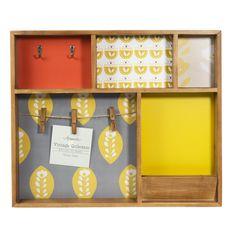 Housse de coussin en coton multicolore olle maisons du - Porte photo maison du monde ...