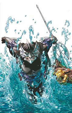 AQUAMAN #23.2: OCEAN MASTER Written by GEOFF JOHNS and STERLING GATES Art by GERALDO BORGES 3-D motion cover by PAUL PELLETIER and SEAN PARSONS On sale SEPTEMBER 25 • 32 pg, FC, $3.99 US • RATED T Ocean Master is freed from Belle Reve and wants no part of the Secret Society—he just wants to go home to Atlantis. But he has a long bloody journey across the surface world in front of him, and he might not make it back!