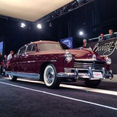 The original Driving Miss Daisy Hudson Commodore 8 Lot #1049 goes for $60k. #BarrettJackson