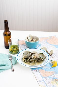 Clams in White Wine Sauce (from The Ancestral Table) | The Domestic Man