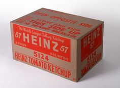 Heinz Tomato Ketchup Box [Prototype] Andy Warhol, 1963-1964