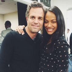 See what a day in the life of Zoe Saldana is really like.