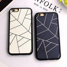 1.63$  Buy here - Black White Hot fashion lovers geometry Silk pattern TPU Soft silicone Case Cover For iphone 7 SE 5 5s 6 6s 4.7 / 7 plus 5.5    #buyonlinewebsite