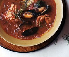 Quick and Easy Cioppino for a lucky boy tonight