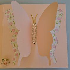Tarjeta personalizada para mujer hecha 100% a mano. Original regalo.