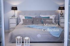MINIMAL COLECTION EXCLUSIVE BEDSPREAD BED LINEN MAISON MADLENE