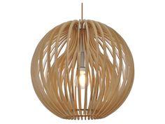 Hanglamp Denia, hout